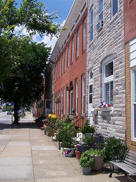 Row Houses In Baltimore Md : Baltimore city