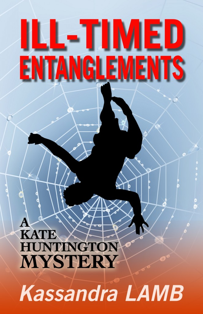 new cover--man falling into spider web