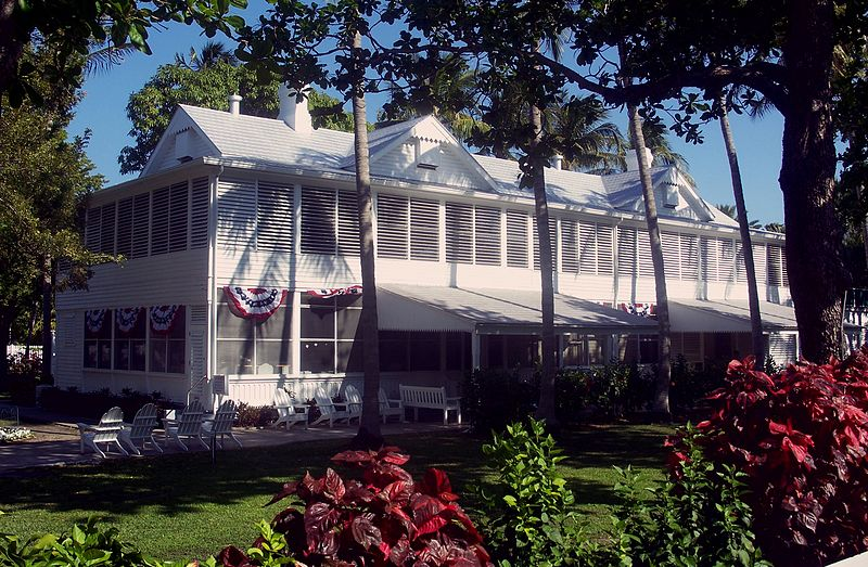 Harry Truman's Little White House (photo by Ebyabe CC-BY-SA 3.0, Wikimedia Commons)