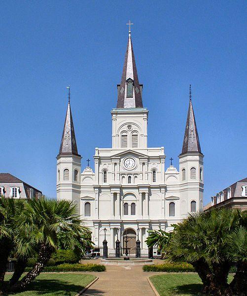 St. Louis Cathedral (photo by Rafal Konieczny CC-By-SA 3.0 Wikimedia Commons)