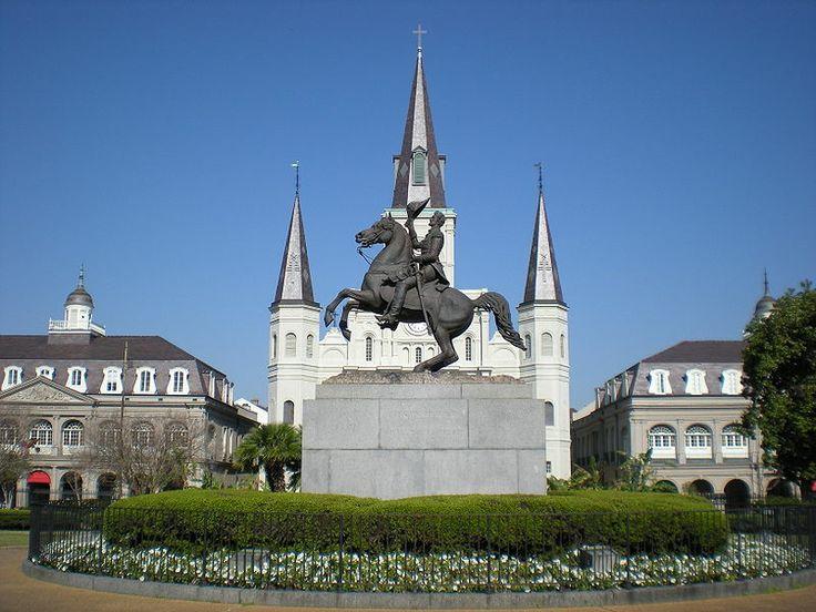 Statue of Andrew Jackson (photo by Sami99tr, Wikimedia, CC-By-SA 3.0)