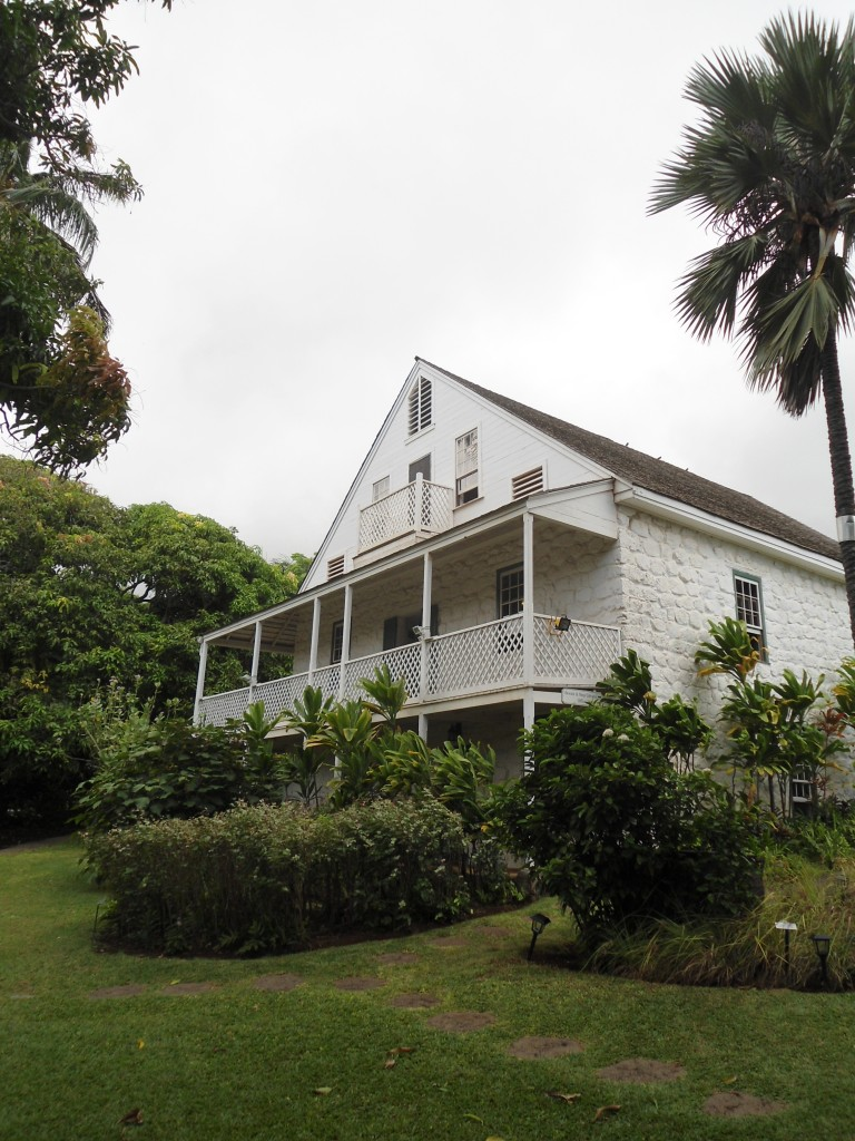 The Bailey House Museum, in an old missionary house in the town of Wailuku