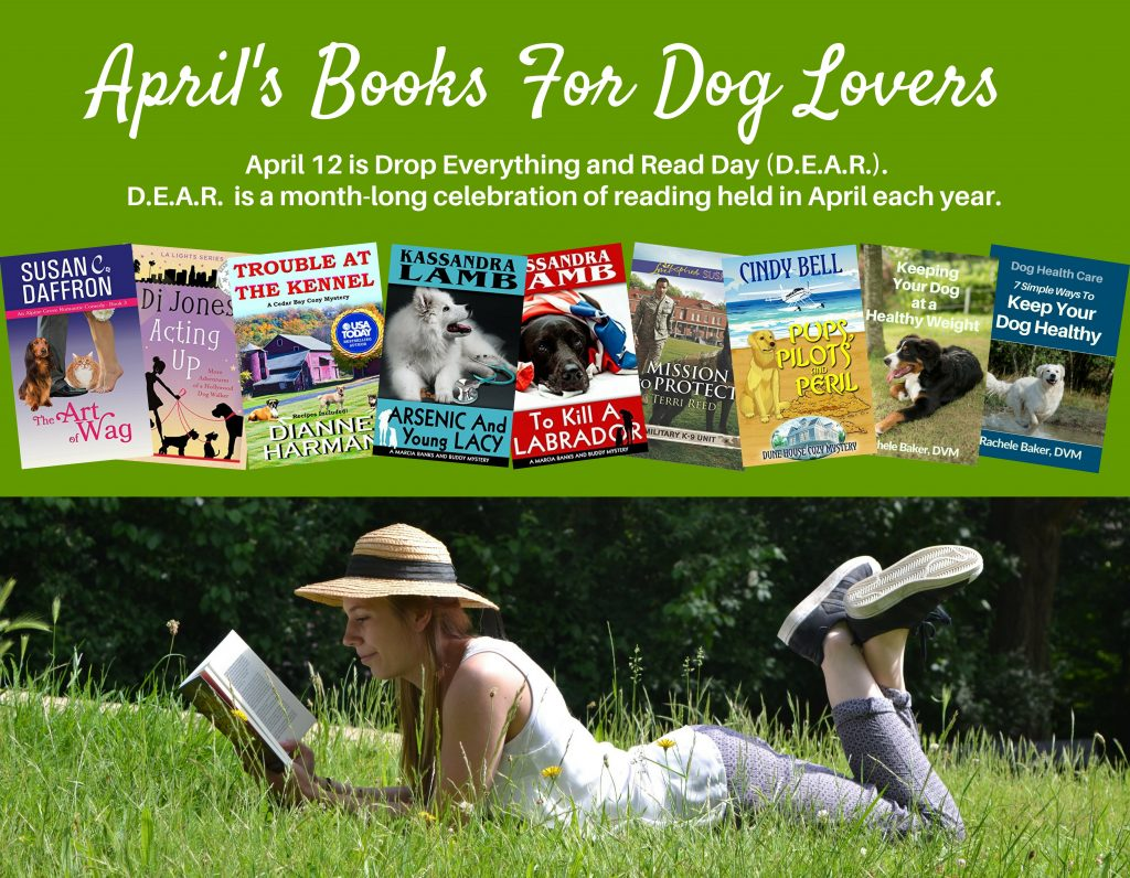 Authors Of Books For Dog Lovers April Promo