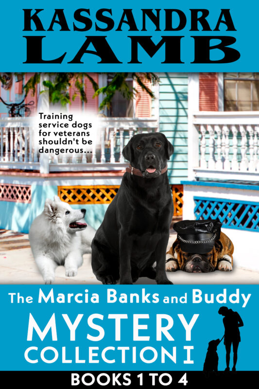 A Marcia Banks and Buddy Collection I ~ Books 1-4