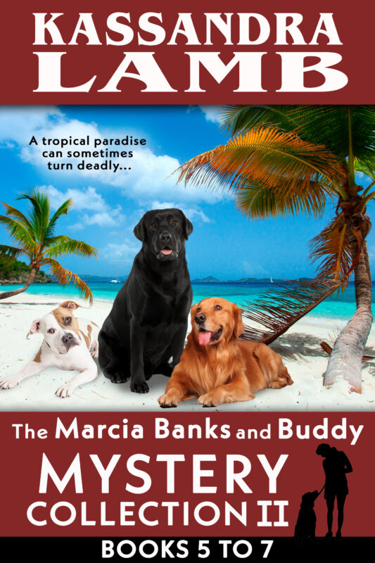 A Marcia Banks and Buddy Mystery Collection II — Books 5-7